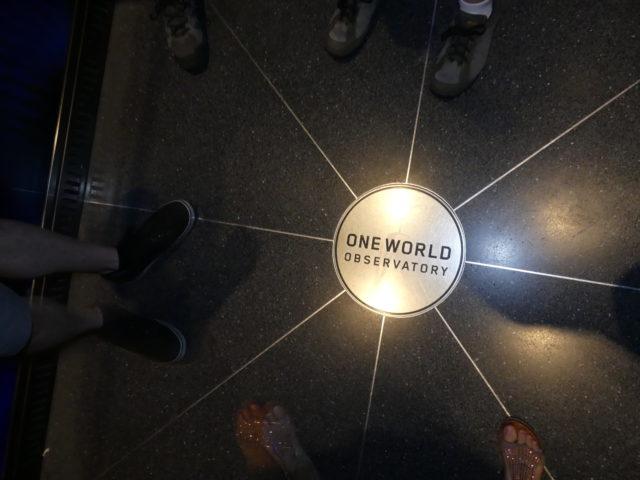 One World : l'ascenseur !